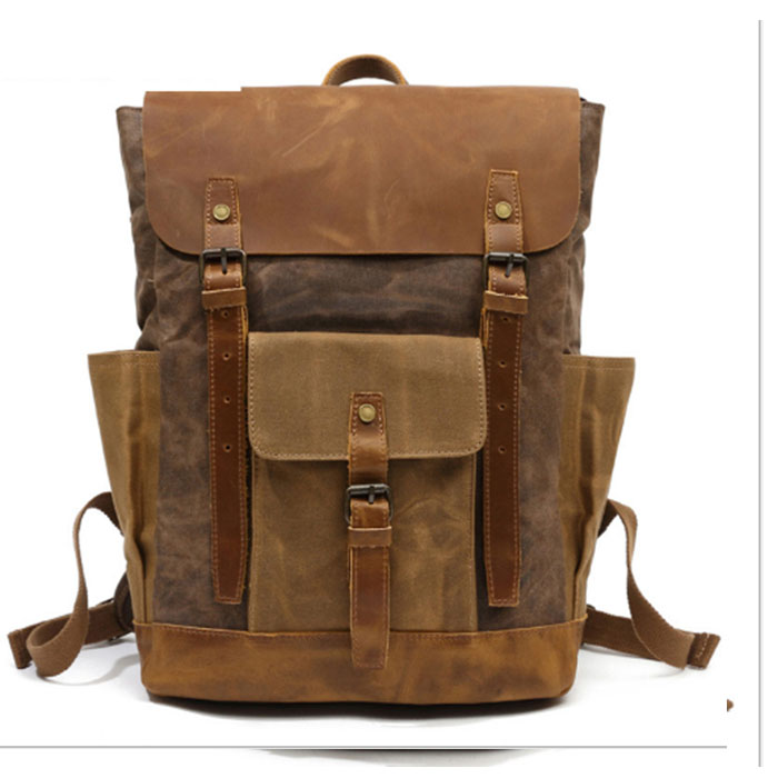 Vintage Canvas Men Travel Backpack Casual Student School Bags For Girls Boys Fashion Women Laptop Backpack Rucksack khaki/gray zelda laptop backpack bags cosplay link hyrule anime casual backpack teenagers men women s student school bags travel bag