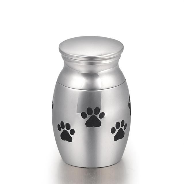 Silver Paws Memorial Urn
