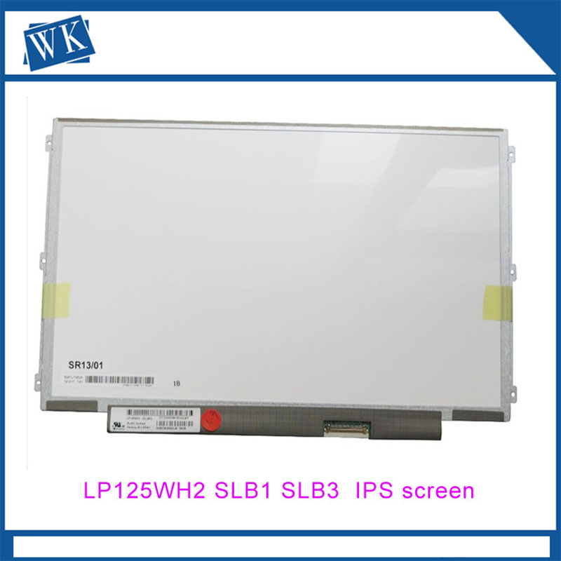 12.5 IPS POUR LENOVO ThinkPad U260 K27 K29 X220 X230 U260 X220i X220T X201T Portable LED ÉCRAN LCD LP125WH2 SLB1 SLB3 FRU matrice