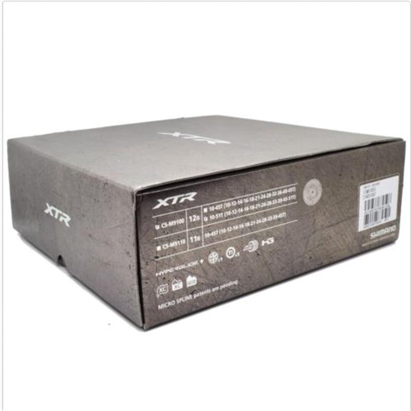 Boîte d'origine-emballé Shimano XT-R CS-M9100-12 12 Vitesse 10-45 t/10-51 t Cassette Roue Libre nouveau Vélo