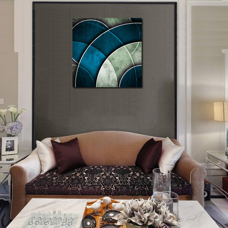 single original design post modern paintings printed on canvas for hotel or living room decoration without frame wall art in painting calligraphy from