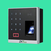 ZK X8 BT Bluetooth Fingerprint RFID 125Khz Card And Access Control with ZKBioBT APP software