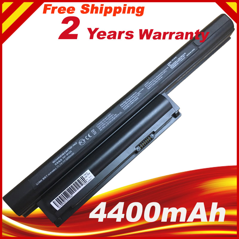 Laptop Battery for VAIO BPL26 BPS26 VGP-BPL26 VGP-BPS26 VPCEH16EC VPCEL15EC SVE141 SVE14A SVE15 SVE17 VPC-CA quality new laptop battery for sony v c ca cb series vgp bpl26 vgp bps26 vgp bps26a bps26 bpl26 4400mah