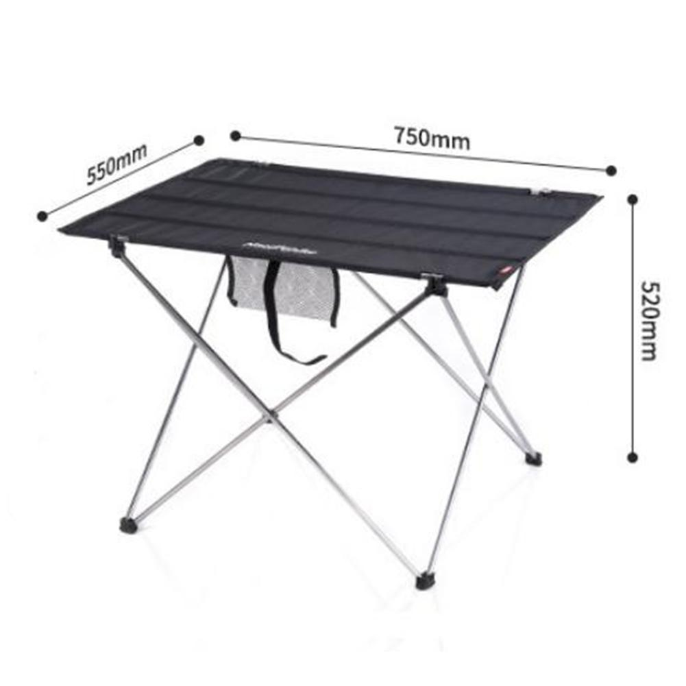 HobbyLane Outdoor Foldable Table Aluminium Alloy Light Weight Portable Table for Camping Furniture Picnic Hiking Desk in Camping Tables from Sports Entertainment