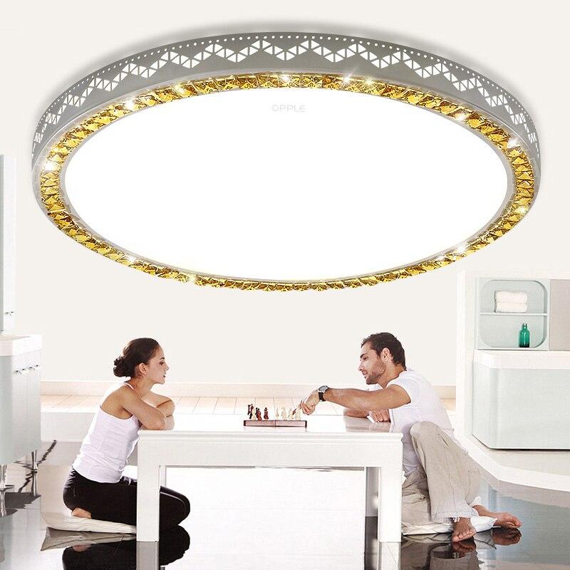 Acrylic moderne led plafonniers pour le salon chambre - Plafonnier salle a manger ...