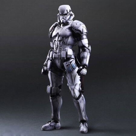 Chanycore Star Wars:The Force Awakens Storm Trooper 28cm Action Figure Collection Model For Kid Gifts 1078
