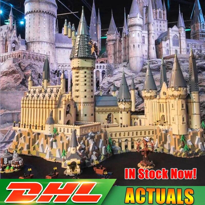 Compatible Legoing 71043 Lepin 6742 16060 unids Harry Magic Potter Hogwarts Castillo escuela Kit bloques de construcción ladrillos modelo de juguete