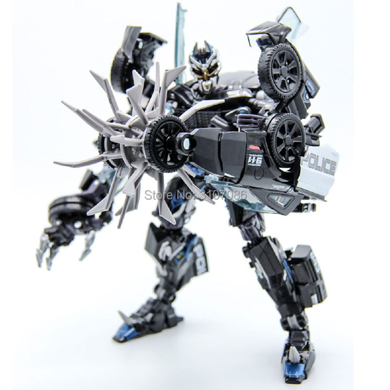 TKR Transformation MPM05 Barricade Movie MasterPiece Series Police Mode Collection KO Action Figure Robot Toys