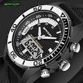 Venda quente dos homens relógios marca sanda esporte mergulho display led relógio de pulso moda casual pulseira de borracha homens relógio montre homme relogio