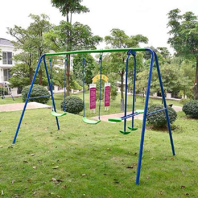 Yontree 3 funciones columpio hamaca kindergarten Muebles de exterior ...