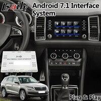 Android 7.1 Video Interface for Skoda Karoq / Kodiaq / Rapid / Fabia / Superb / Octavia MQB MIB MIB2 system , GPS Navigation