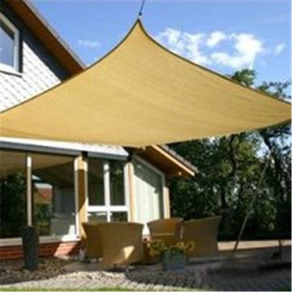 Customized Size HDPE UV Protection Sun Shade Sail Garden Patio Sunscreen  Sail 3m*3m