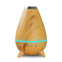 400ml Hot Sale LED Light Ultrasonic Aroma Air Humidifier Mist Maker Electric Essential Oil Diffuser Aromatherapy