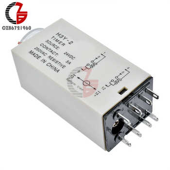 AC 110V 220V 5A H3Y-2 Time Delay Relay Solid State Timer Relay