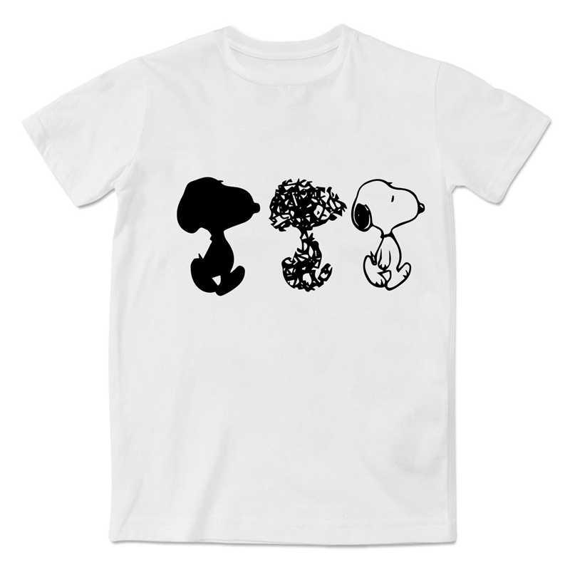 Cute Dog Unisex T Shirt mężczyźni kobiety O-NECK modalne krótki Tee