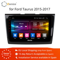 Ownice K1 K2 Android 8.1 Car DVD Player for Ford Taurus 2017 bluetooth auto gps head units radio stereo 8 Core 4G LTE 2G RAM