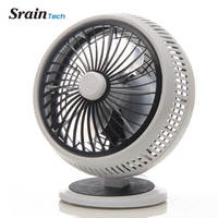 SrainTech Small Table Fan for Student Desk Top Fan 220V 20W Energy Saving Powerful Perfect for Office Angle Adjustable Small Fan