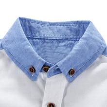 Fashion Summer Cotton Baby Boy's Shirt