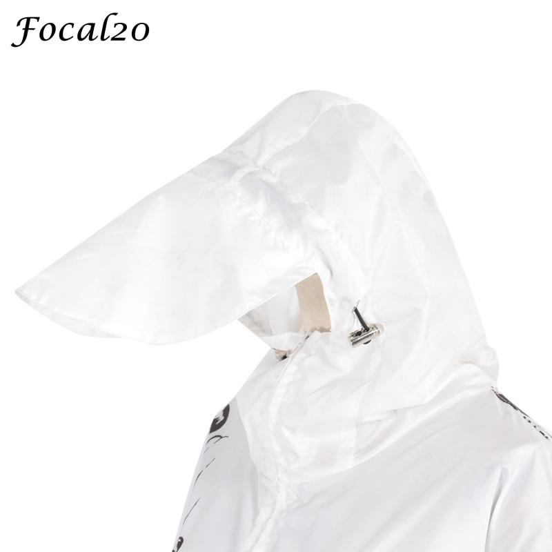 Focal20 Streetwear Junji Itou Manga Print Oversize Women Hooded Jacket Anime Hoodie Pullover Jacket Coat Outwear Streetwear 11