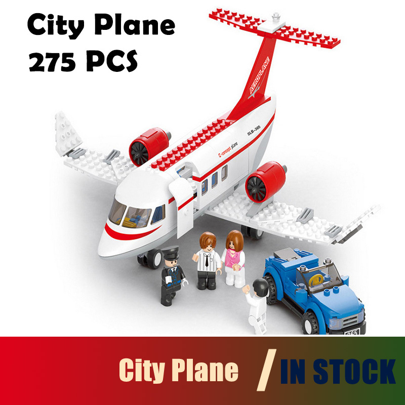 Compatible with lego City 0365 Model building kits Plane 3D blocks Educational model & building toys hobbies for children