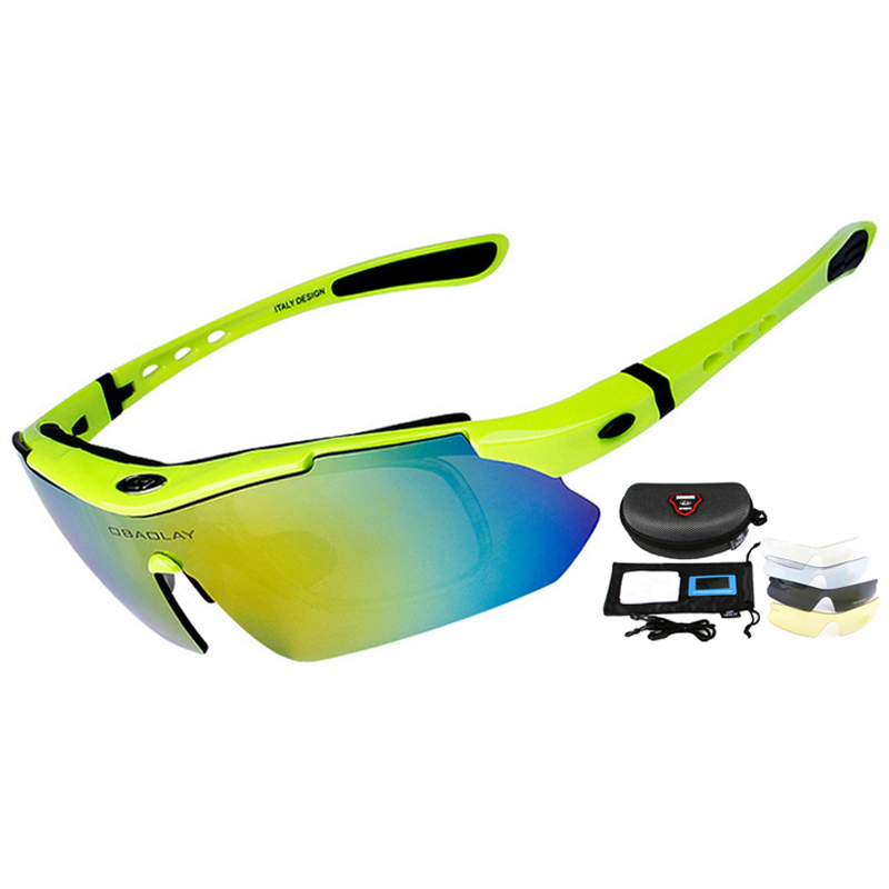 85128d0746 Professional Cycling Eyewear UV400 Polarized Cycling Glasses Bike Bicycle  Glasses Sunglasses Gafas Cicismo Goggles 5 Lens