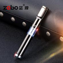 Famous Brand Metal Cigarette Holder Portable Filter Smoking Pipe Herb Tobacco Pipe Creative Pipes Men Gifts Smoke Mouthpiece