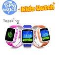 Горячий Малыш GPS Smart Watch Наручные Часы SOS Вызова Расположение Finder Locator устройство, Трекер для Kid Safe Anti Потерянный Монитор Младенца Подарков Q80