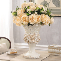 European vase flower simulation suite living room floor decoration fashion TV cabinet decor Home Furnishing vase