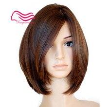 Необработанные европейские виргинские волосы, прямые с телом, Боб еврейский парик, Кошерный парик лучшие ножницы