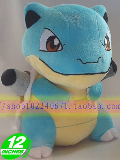 Movies & TV Pokemon 33cm Pocket Monster Blastoise plush toy about 13 inch doll gift p906