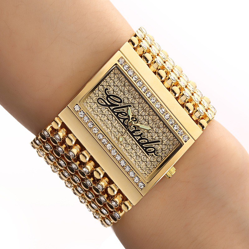 2018!!New!! G&D Watch For Women  Quartz Analog Casual Watch Gold Watch Quartz Simple Clock Relogio Feminino Reloj Mujer Montre