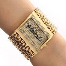 2020!! Nowy!! G & D zegarek dla kobiet zegarek kwarcowy analogowy zegarek złoty zegarek kwarcowy prosty zegarek Relogio Feminino Reloj Mujer Montre