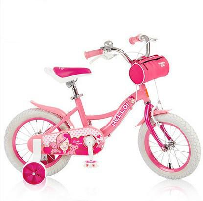 Niños Bebé bicicleta de la bici de montaña de la muchacha bebé walker