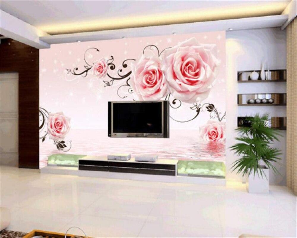 Beibehang Personalizado 3d Papel Pintado Muebles Para El Hogar  # Muebles Murales