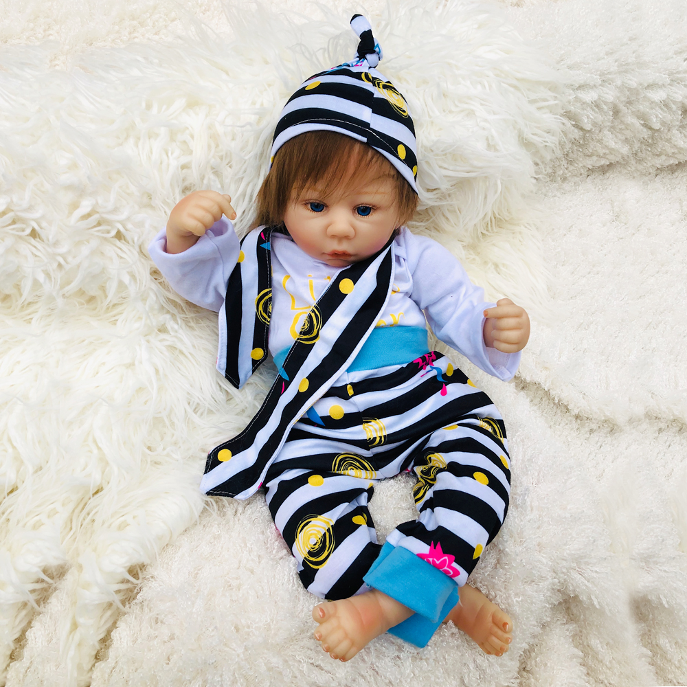 fashion Baby Alive Dolls 18 Inch Soft Silicone Reborn Baby Dolls Lifelike Newborn Boneca Boy girl with bottle Pacifier Kits Giftfashion Baby Alive Dolls 18 Inch Soft Silicone Reborn Baby Dolls Lifelike Newborn Boneca Boy girl with bottle Pacifier Kits Gift