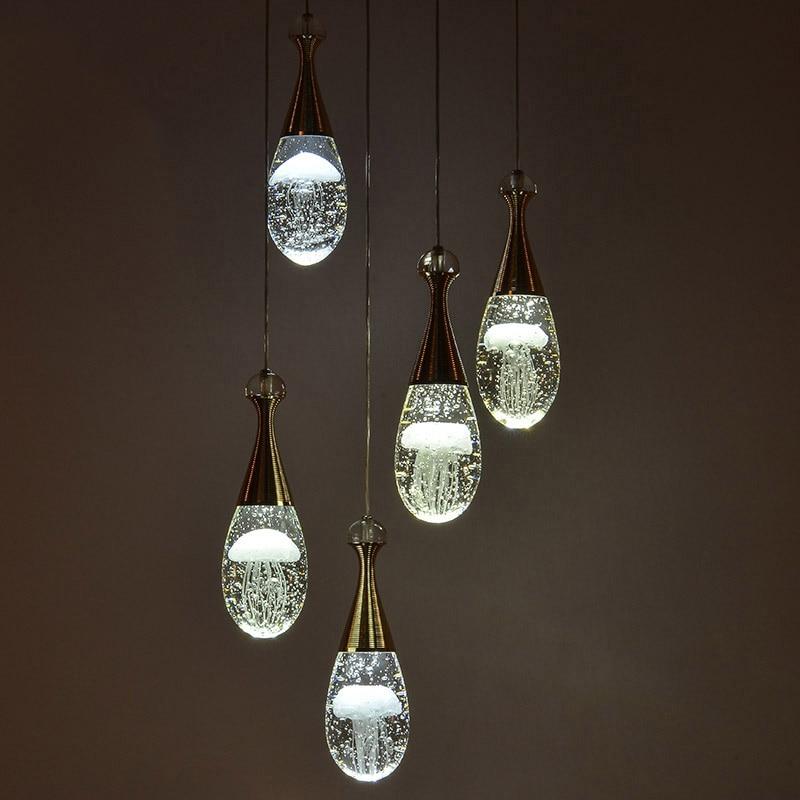 2017 Jellyfish Pendant Light Modern Acrylic For Living