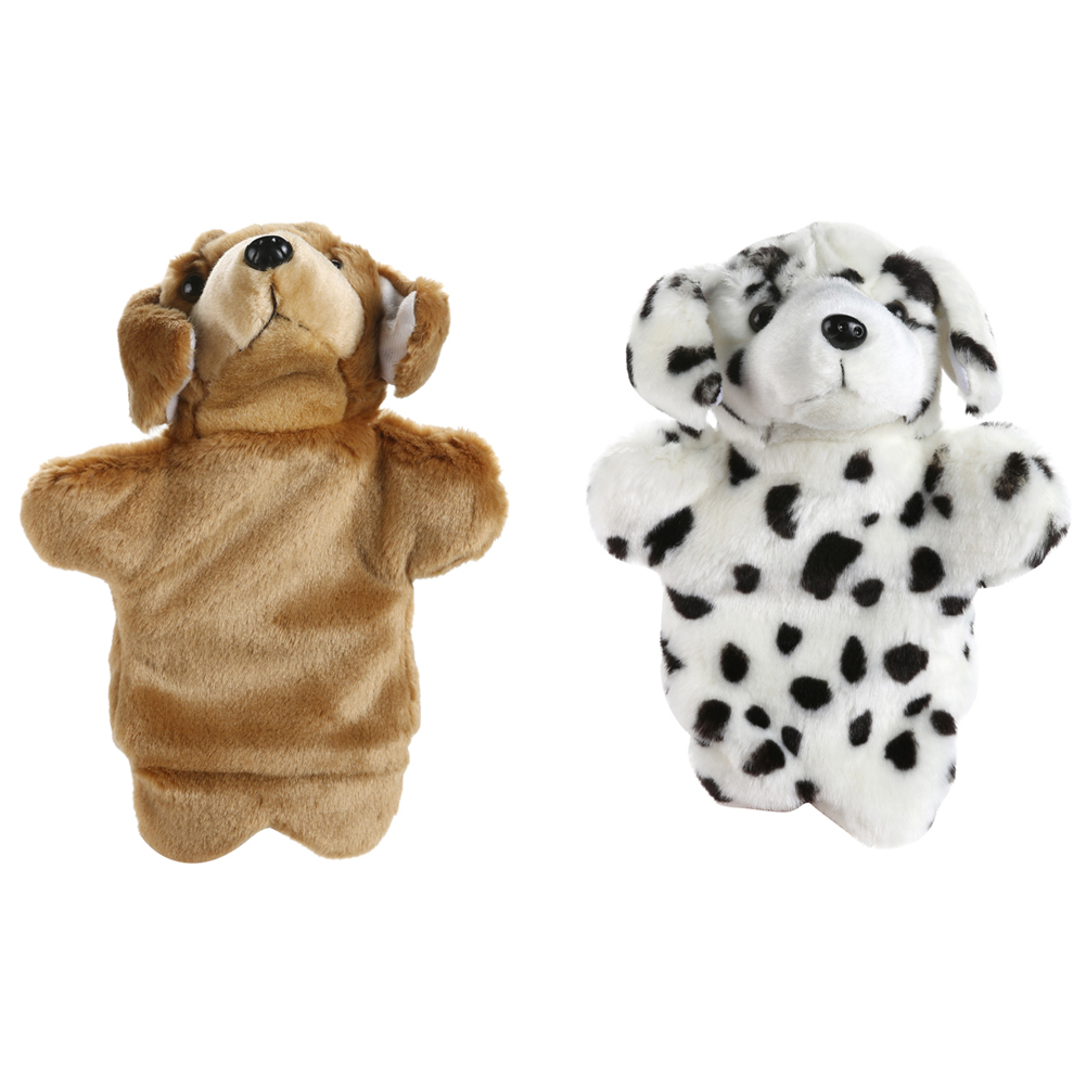Lovely Dog Pattern Hand Puppet Kids Infant Sleep Story