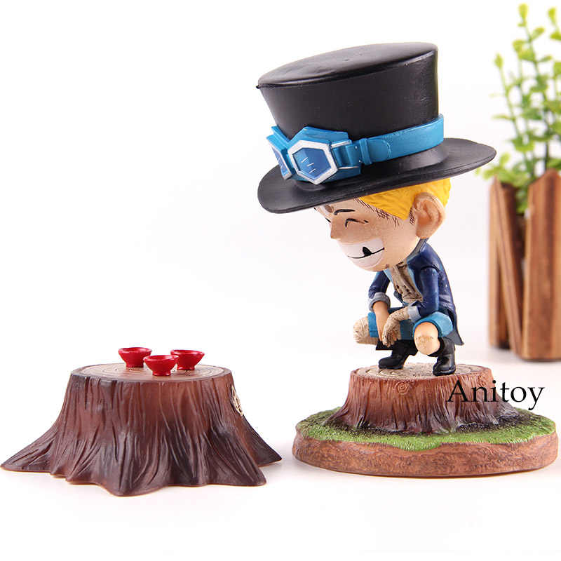 Uma peça infância sabo uma peça figura de ação pvc coleção modelo brinquedos