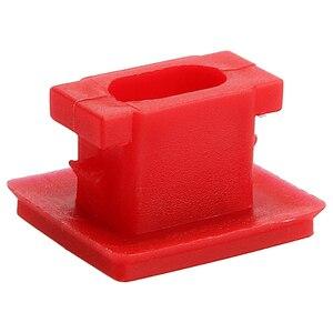 Image 5 - Hebilla de fijación para Panel Interior de 20 piezas, para BMW E46 / E65 / E66/E83N, Clips embellecedores para tablero, arandelas para insertar en tira roja