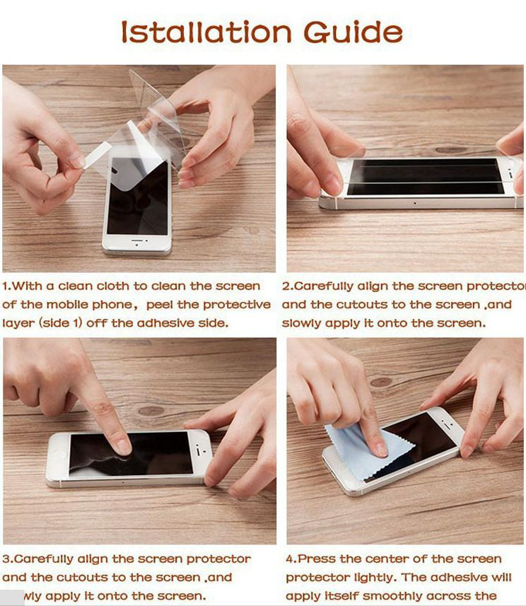 Image 5 - 2PCS Glass For Xiaomi Redmi 4A Screen Protector Tempered Glass For Xiaomi Redmi 4A Glass Phone Film For Xiaomi Redmi 4A 5A 6A <-in Phone Screen Protectors from Cellphones & Telecommunications