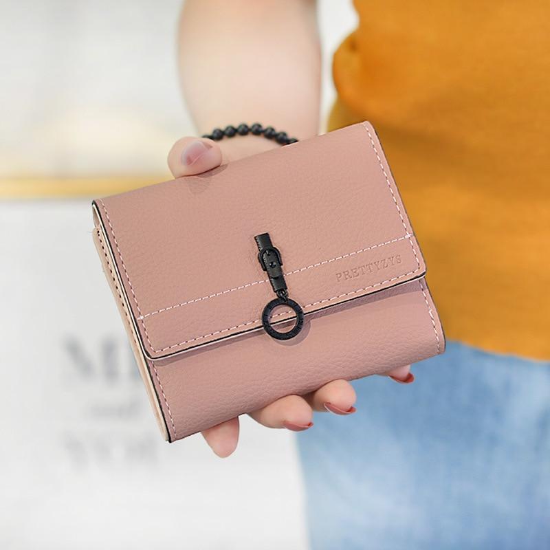 060424a4275f MALFURION 2019 для женщин маленький кожаный женские кошельки на молнии  кошельки кошелек Женский кошелек-клатч