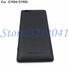 New Battery Door Back Cover For Sony Xperia M C1904 C1905 C2004 C2005 Housing Battery Cover Door Rear Cover With Logo outer front touch screen digitizer glass panel replacement for sony xperia m c1904 c1905 c2004 c2005