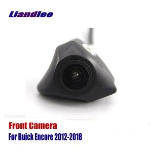 Coche Vista frontal cámara de parrilla para Buick Encore Enclave Regal de LaCrosse Excelle imaginar 2010-2020 no de marcha atrás cámara trasera de estacionamiento