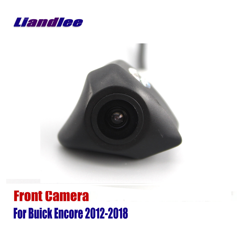 Liandlee AUTO CAM For Buick Encore 2012 2018 2013 2014 2015 Front View Camera Logo Embedded Not Reverse Rear Parking Camera in Vehicle Camera from Automobiles Motorcycles