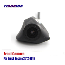 Liandlee AUTO CAM For Buick Encore 2012-2018 2013 2014 2015 Front View Camera Logo Embedded ( Not Reverse Rear Parking )