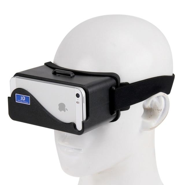NJ-3D1688A DIY 3D Google Cardboard Glasses Virtual Reality for iPhone 5 5S 5C