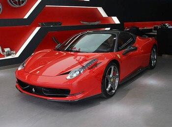 Подходит для Ferrari 458 перед углеродного волокна губы угол охвата Ветер воздуха нож