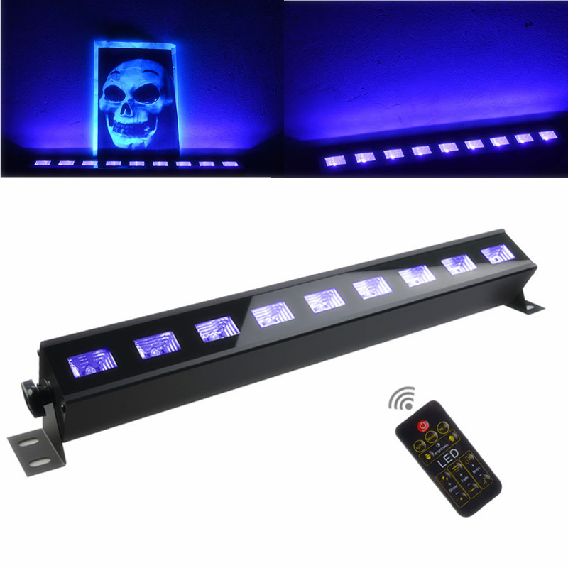 Halloween LED Bar UV Violet Stage Light 27W 100-240V Decorative Christmas DJ Club Party Disco Lamps LED Wall Washer LightHalloween LED Bar UV Violet Stage Light 27W 100-240V Decorative Christmas DJ Club Party Disco Lamps LED Wall Washer Light