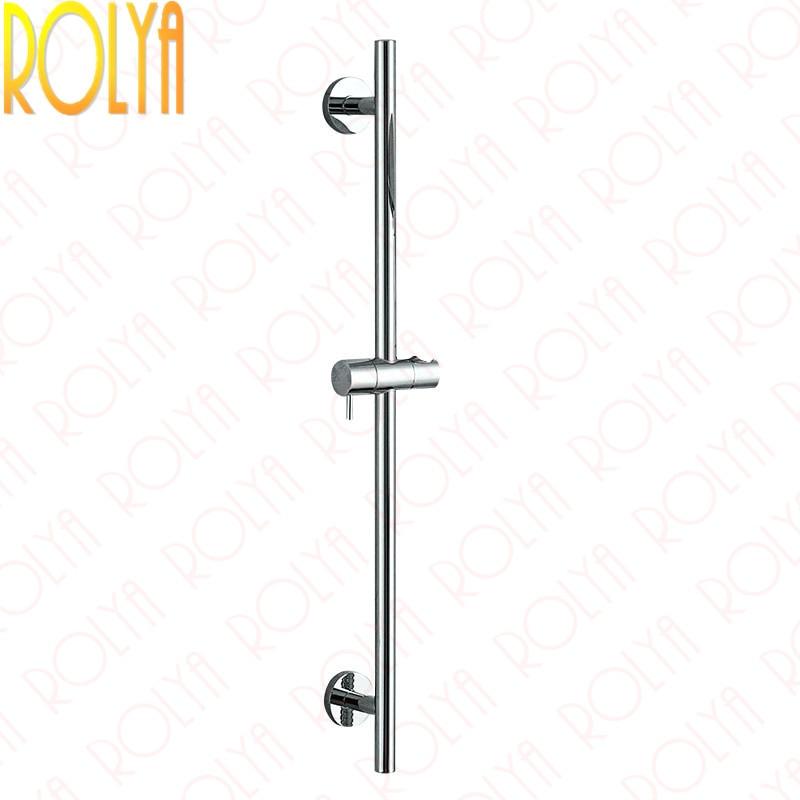 где купить Rolya Ronda Wall mounting Round Style Shower Sliding Rail Shower Elbow Brass Hand Shower Slide Bar дешево