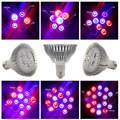 Full Spectrum 15W 21W 27W 36W 45W 54W LED Grow Lights E27 Horticulture Garden Flowering Hydroponics Vegetables Plant Lamps
